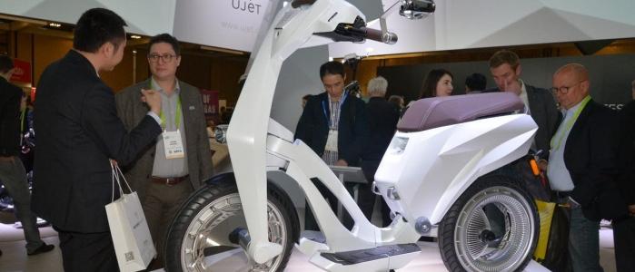 Ujet nous présente le Scooter Nouvelle génération